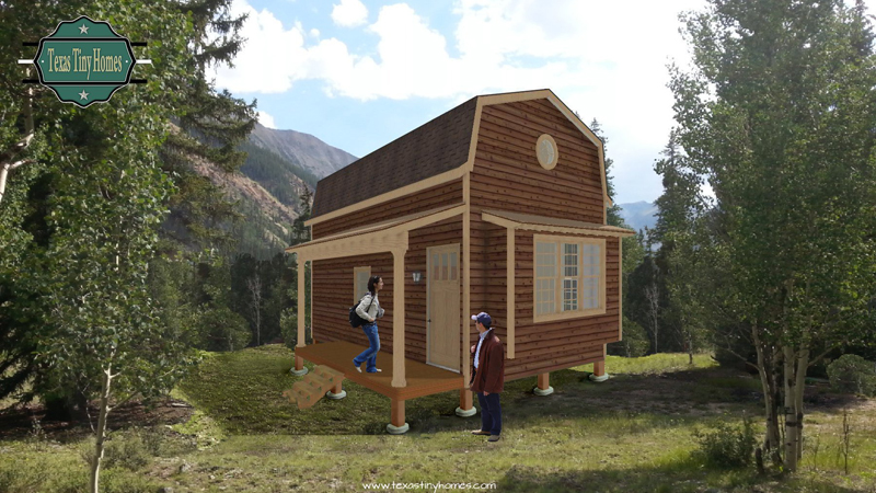 Texas Tiny Homes Designs Builds And Markets House Plans - Backyard cabin kits
