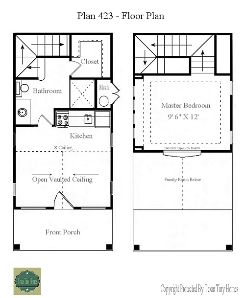 Plan 423 for Floor plans presentation
