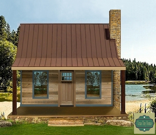 Texas Tiny Homes | Plan 750 | Texas Tiny Homes