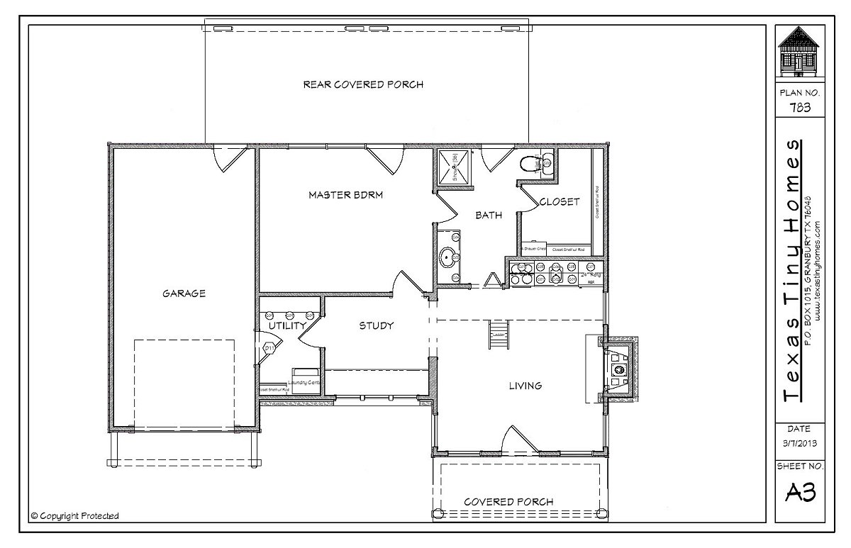 Plan 783 texas tiny homes for Texas farmhouse plans