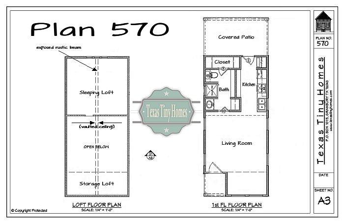 Tumbleweed tiny house floor plans for Tiny texas houses plans
