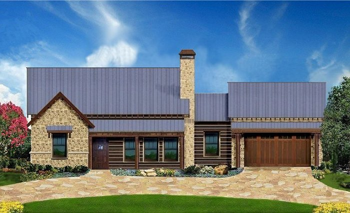 Plan 1505 for Texas fine home builders