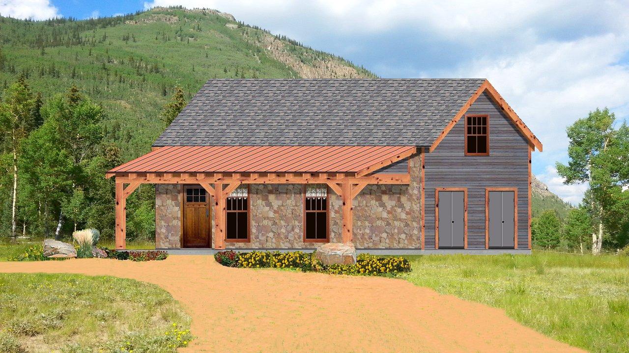 Texas Tiny Homes Plan 552