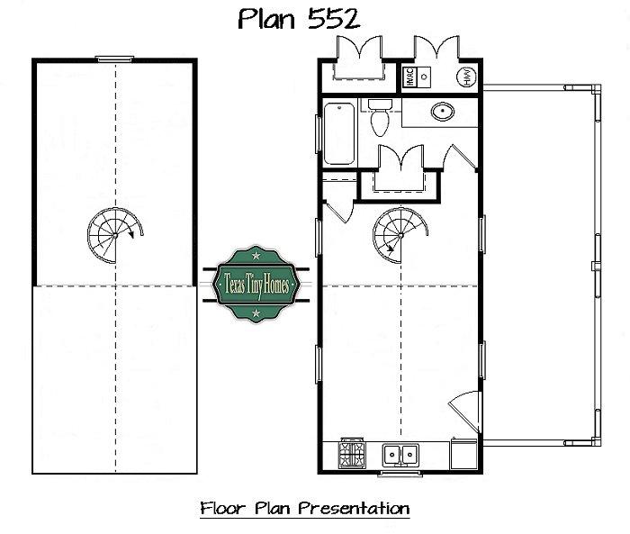 Plan 552 for Tiny texas houses plans