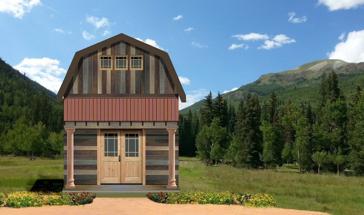 Texas tiny homes plan 618 for Small house design texas