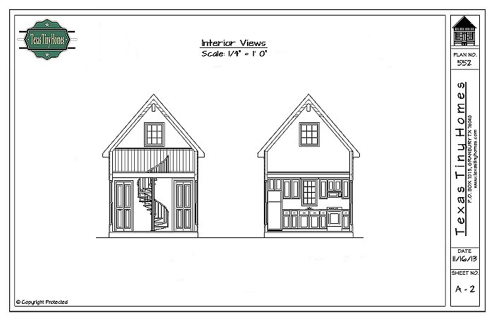 Plan 552 for Small house plans texas