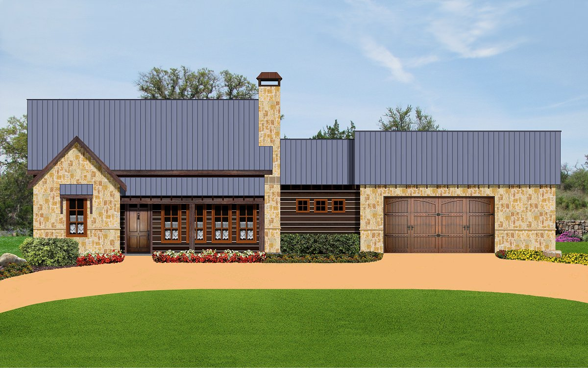 Plan 1659 our flagship home for Texas ranch style home plans