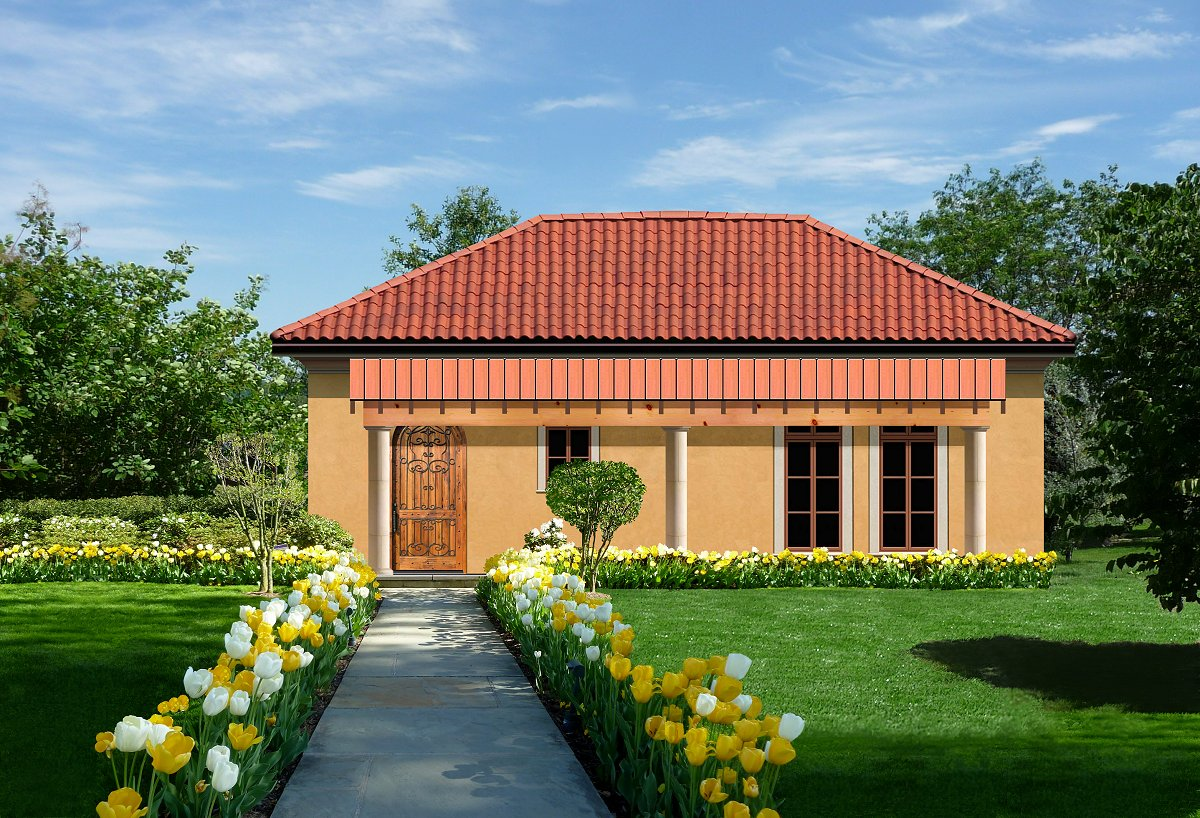 Plan 652 for Small home builders texas