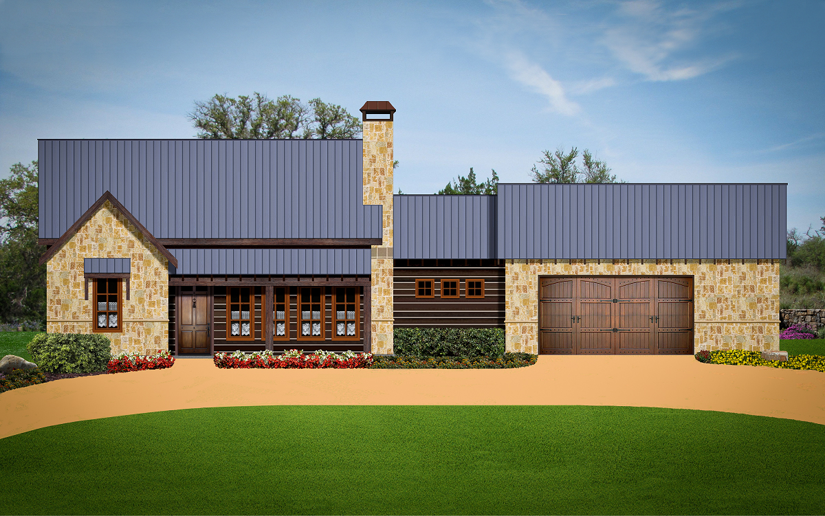 Plan 1659 our flagship home for Texas fine home builders