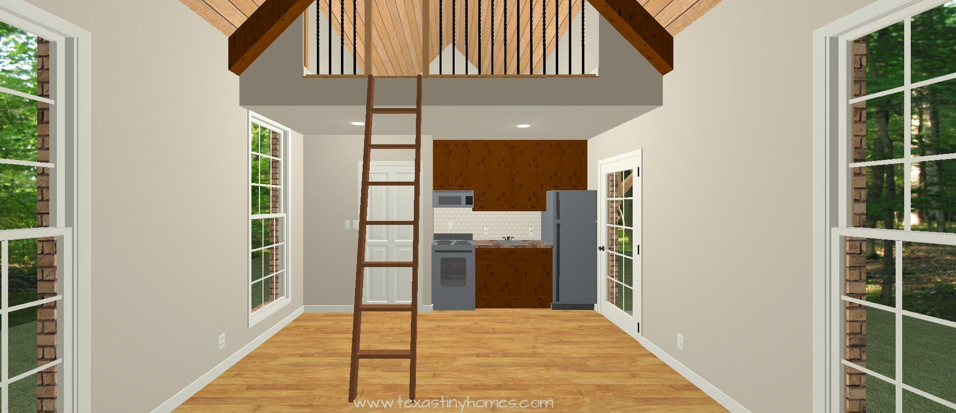 Texas Tiny Homes Plan 516