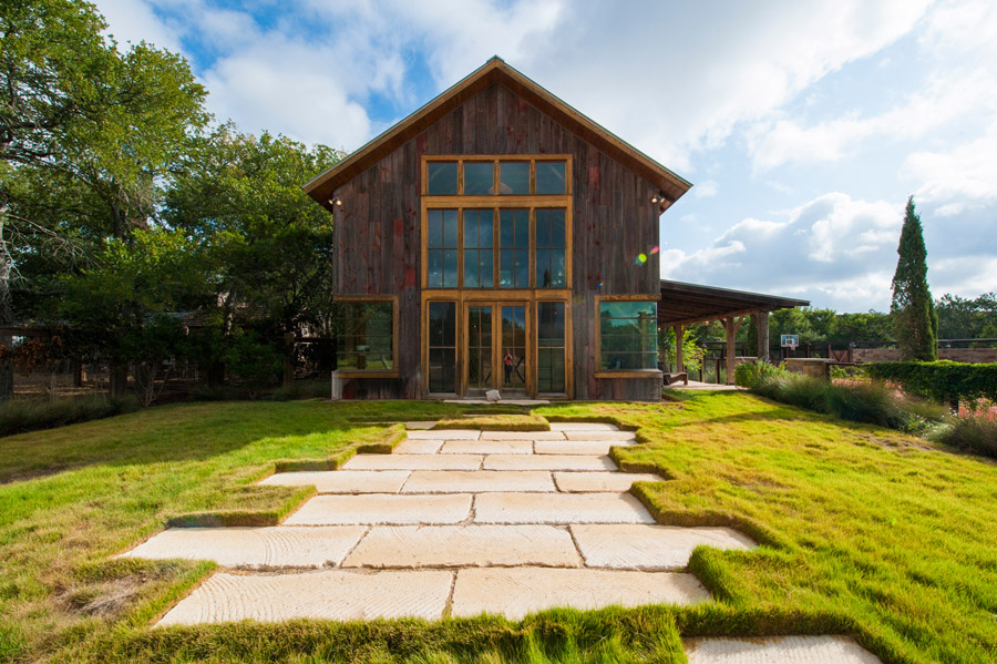 Austin art studio small house swoon Converted barn homes for sale in texas