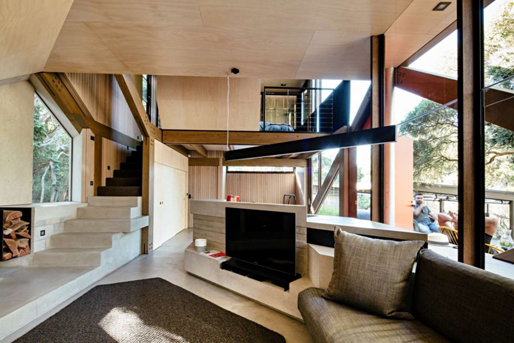 Cabin 2 small house swoon - Tiny contemporary house interior ...