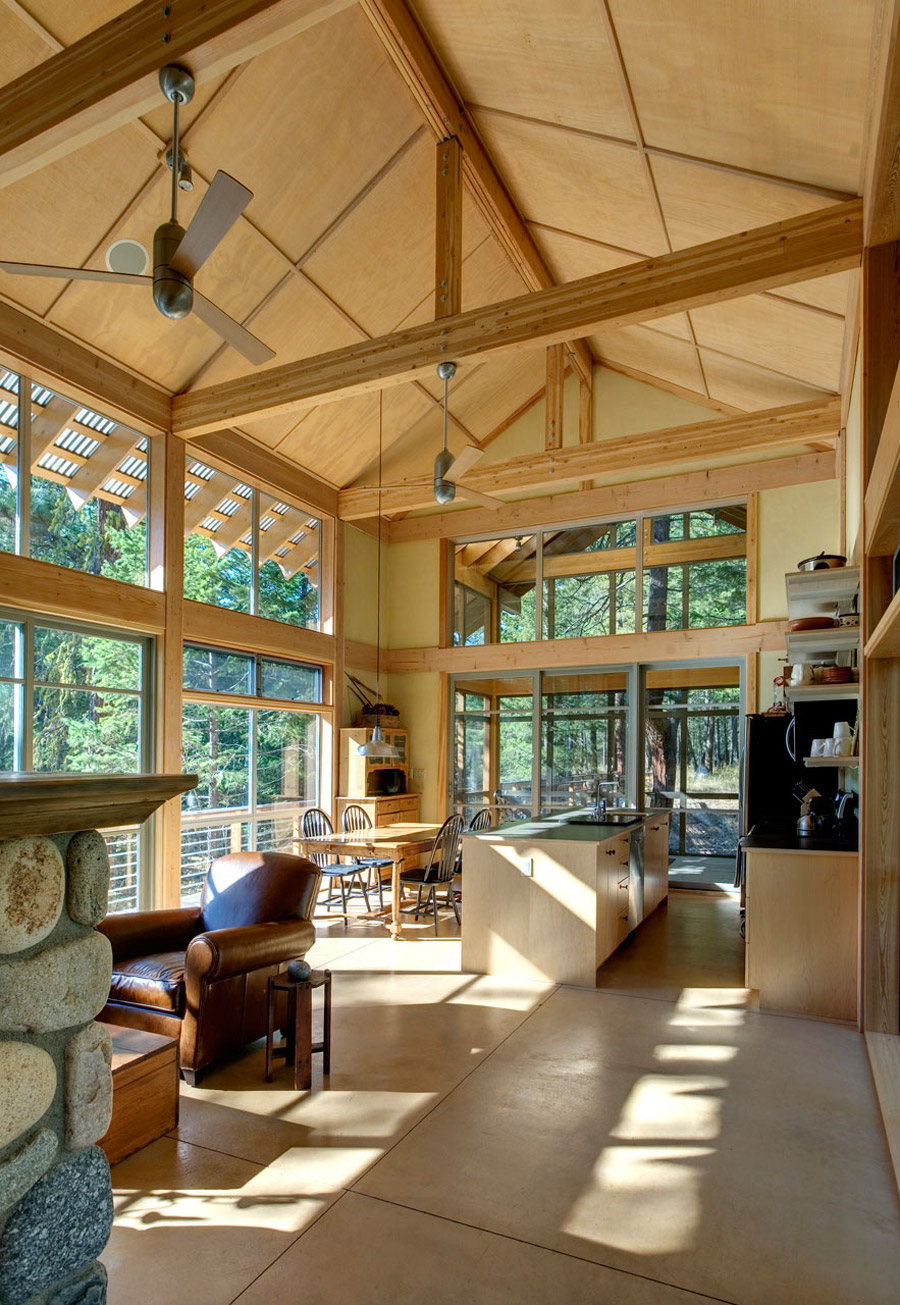 Forest loop small house swoon for Tiny house architects