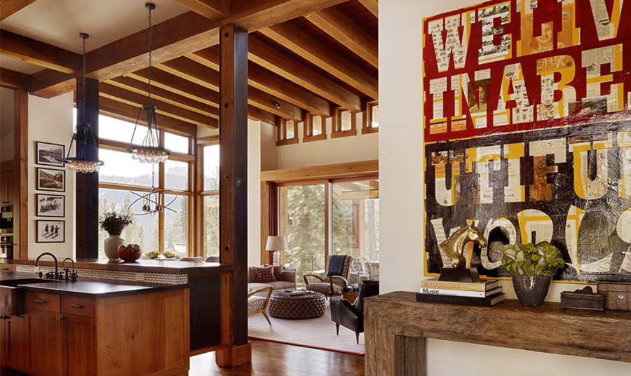 Mountain Cabin Small House Swoon