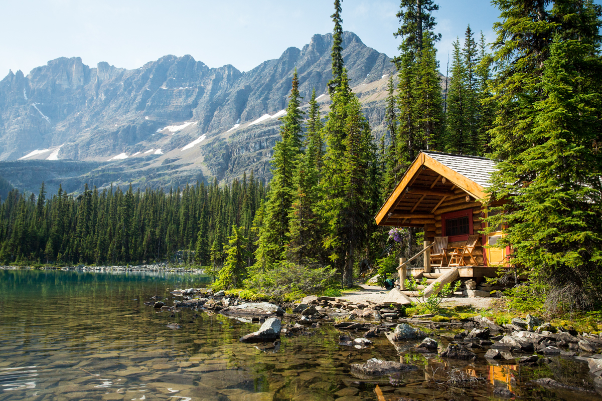 Lake Ohara Lodge Cabins British Columbia Canada
