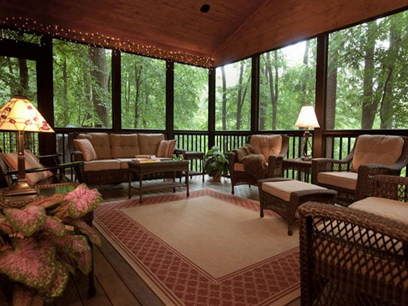 comely screened in porch ideas