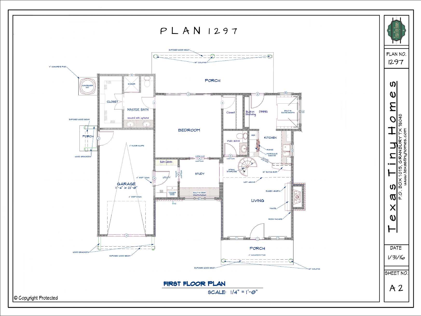 Texas tiny homes plan 1297 for Floor plan websites