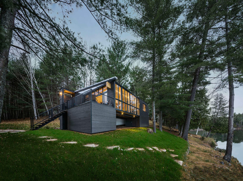 Timber Cottage Quebec Canada