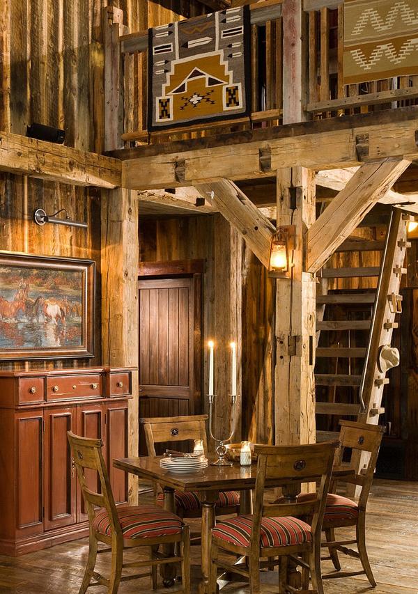 Rustic Modern Barn In The Swan Mountain Range