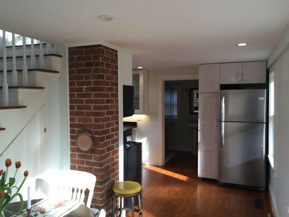 Tiny Cape Cod Cottage Kitchen1 Via Smallhousebliss