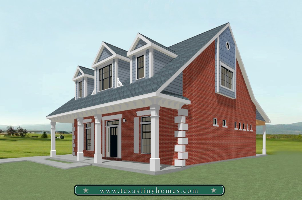 Texas tiny homes plan 2804 for Small house plans texas