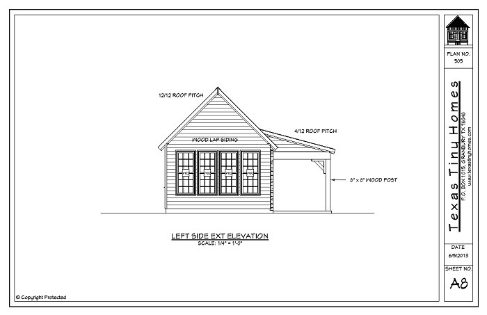 Tiny House Plans, Small House Plans, Small Home Plans, Guest House Plans, Mother In Law Suites, Mother In Law House Plans, Small Homes Texas, Texas Tiny Homes, Fort Worth Tiny Homes,