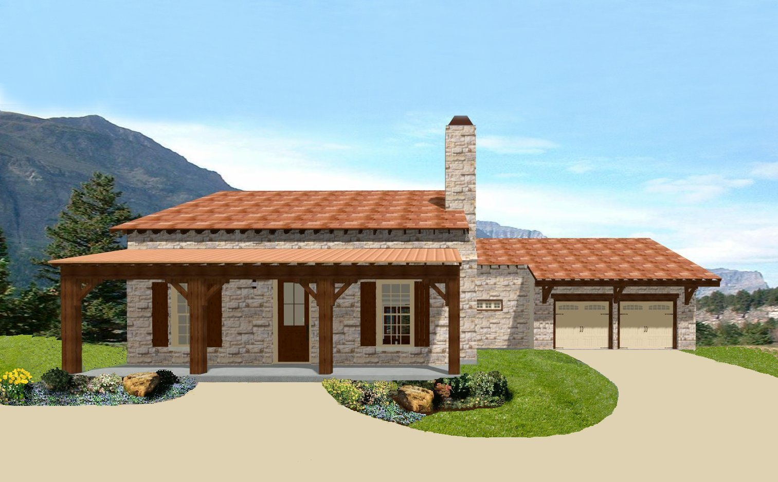 Small Home Plans: Small Luxury Home Plans