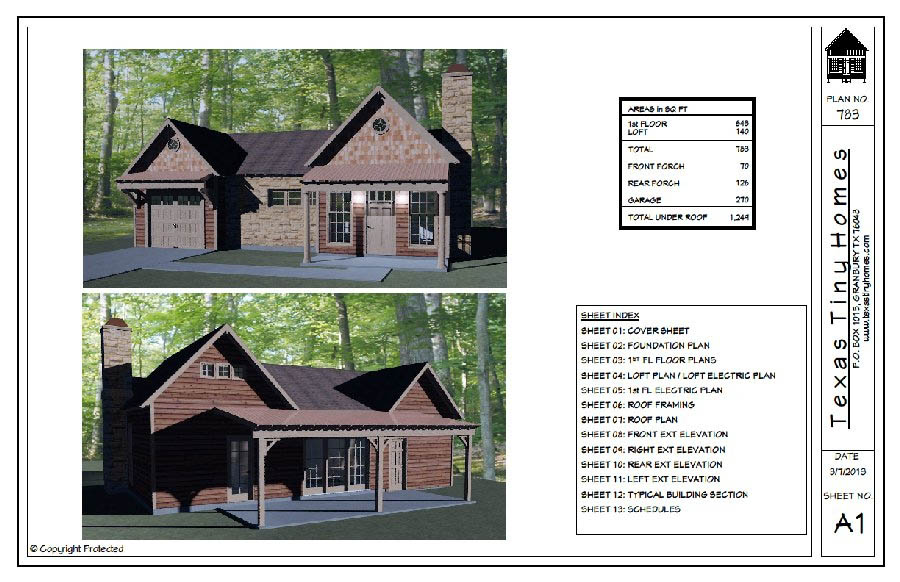 Tiny House Plans Tiny Home plans Tiny