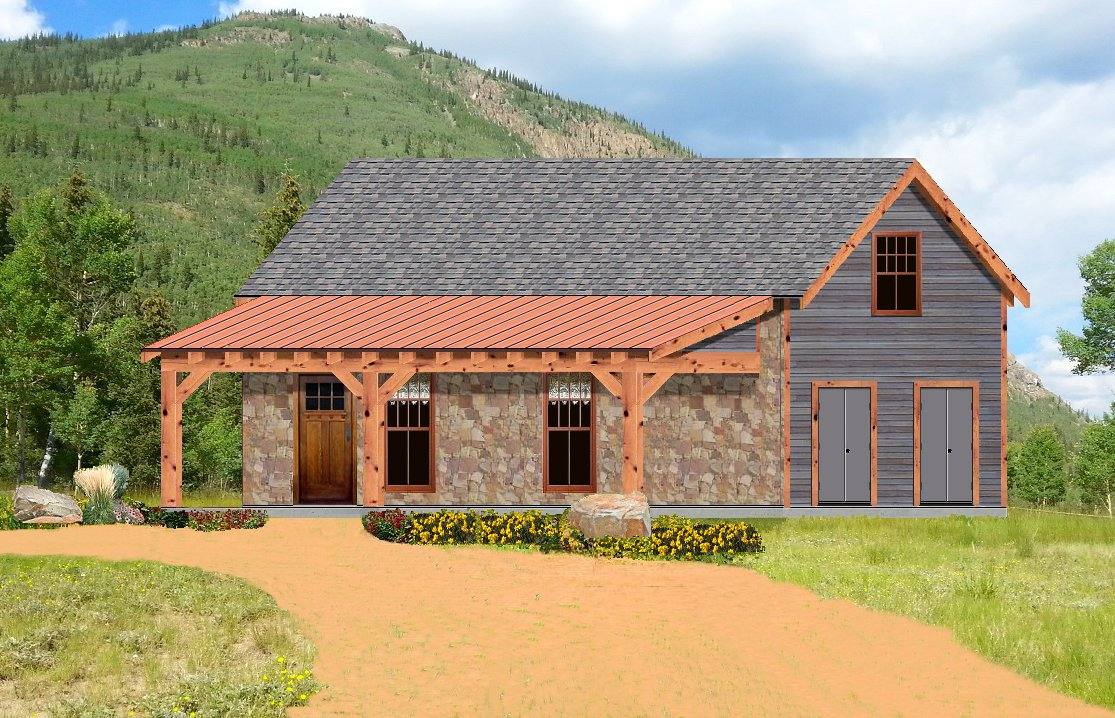 Texas tiny homes plan 552 for Rustic luxury house plans