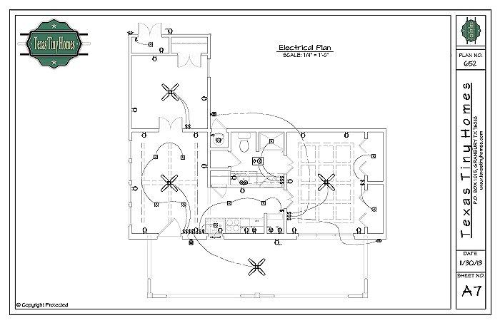 Tiny Home Designs: Plan 652