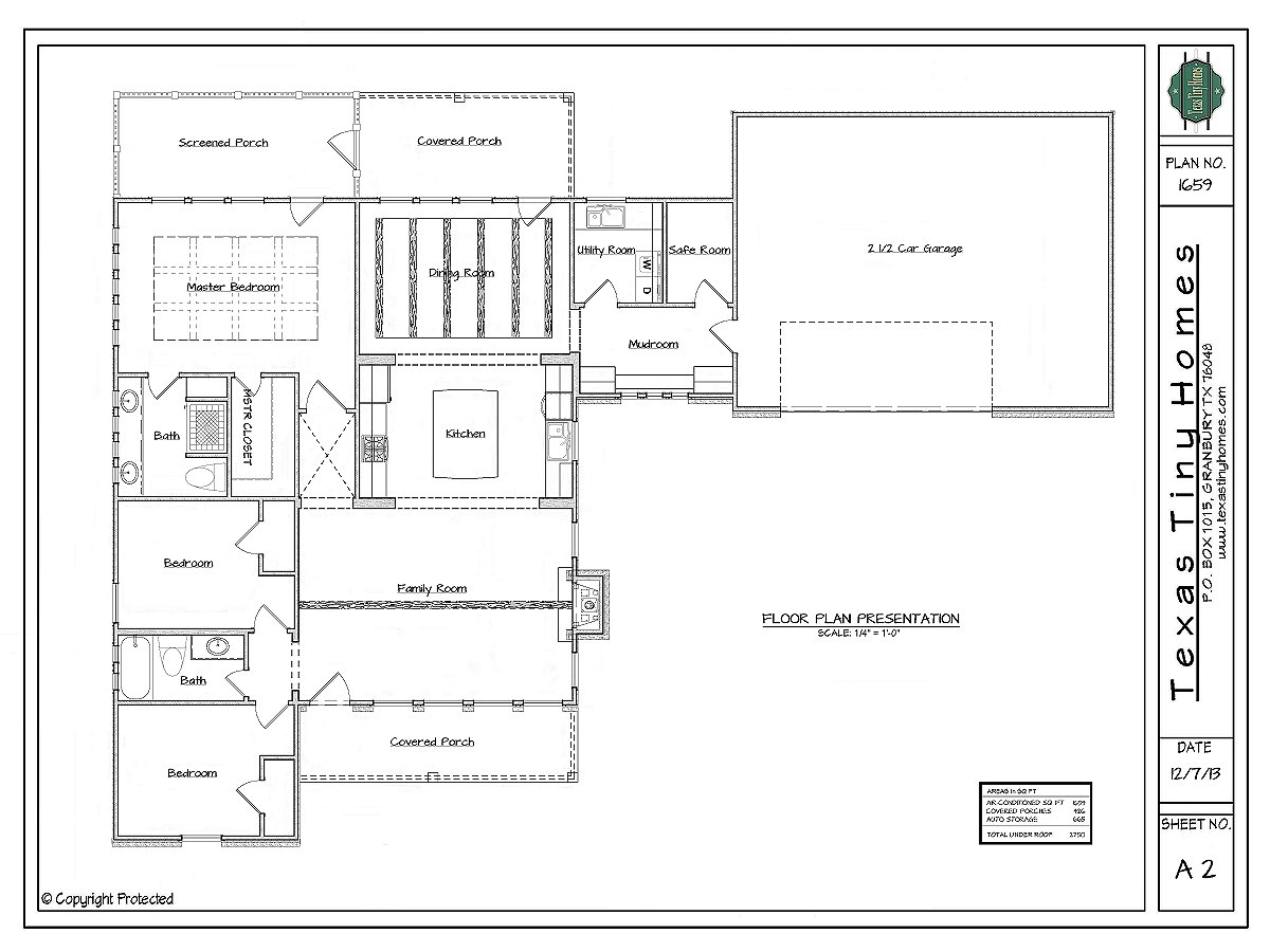 Plan 1659 on small ranch house plans