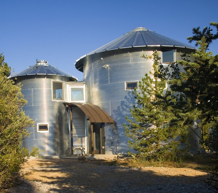 Utah Home Design Architects: Recommissioned Silos