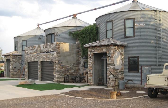 silo house 3