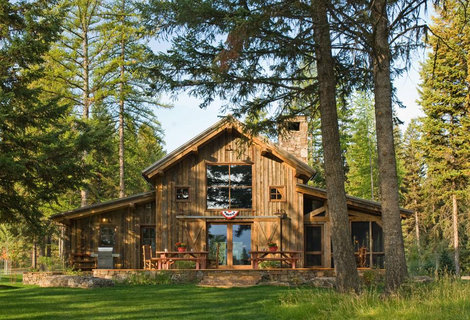 Montana Mountain Barn Retreat | Small House Swoon on montana cabin designs, montana kitchen designs, montana greenhouse designs, montana home designs,