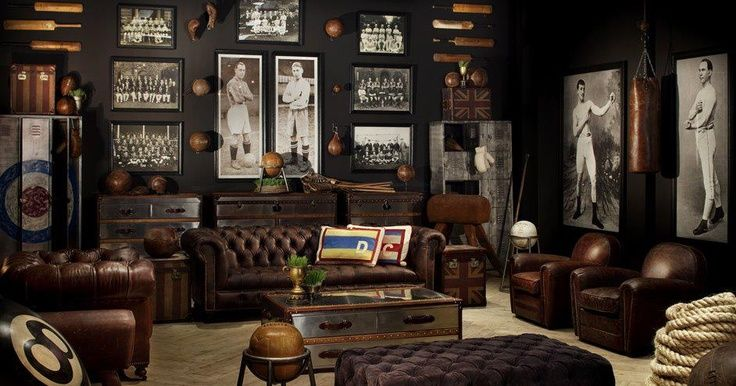 Man Cave Decor Accessories : Tips and ideas for man cave decor