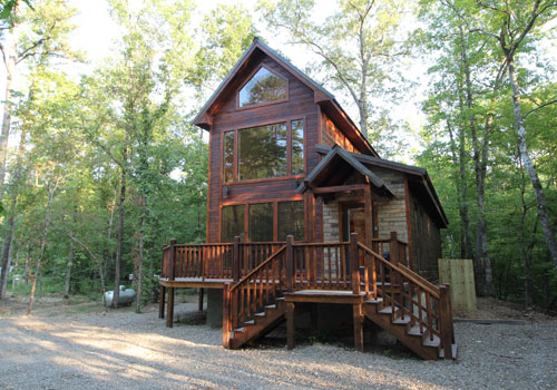 Broken bow vacation cabins oklahoma for Tiny vacation homes
