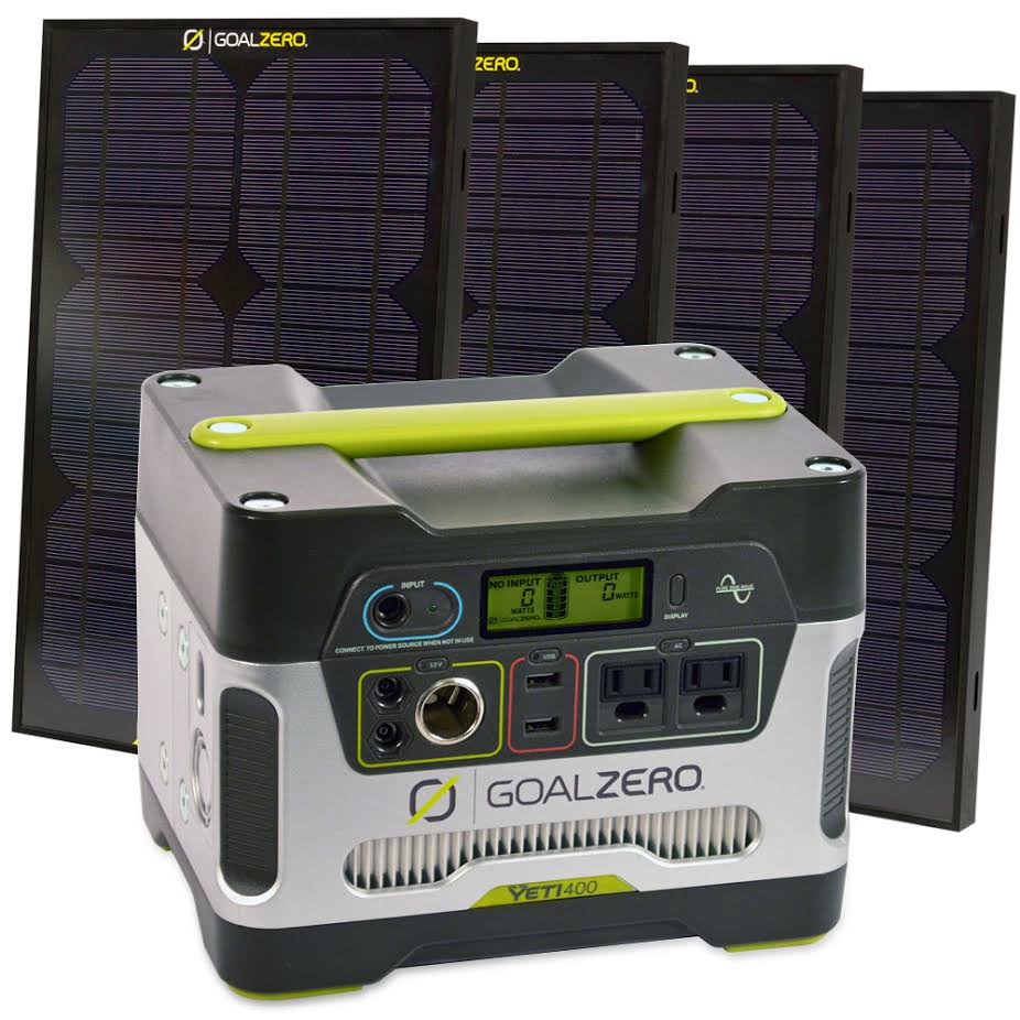 Solar And Gas Powered Generators