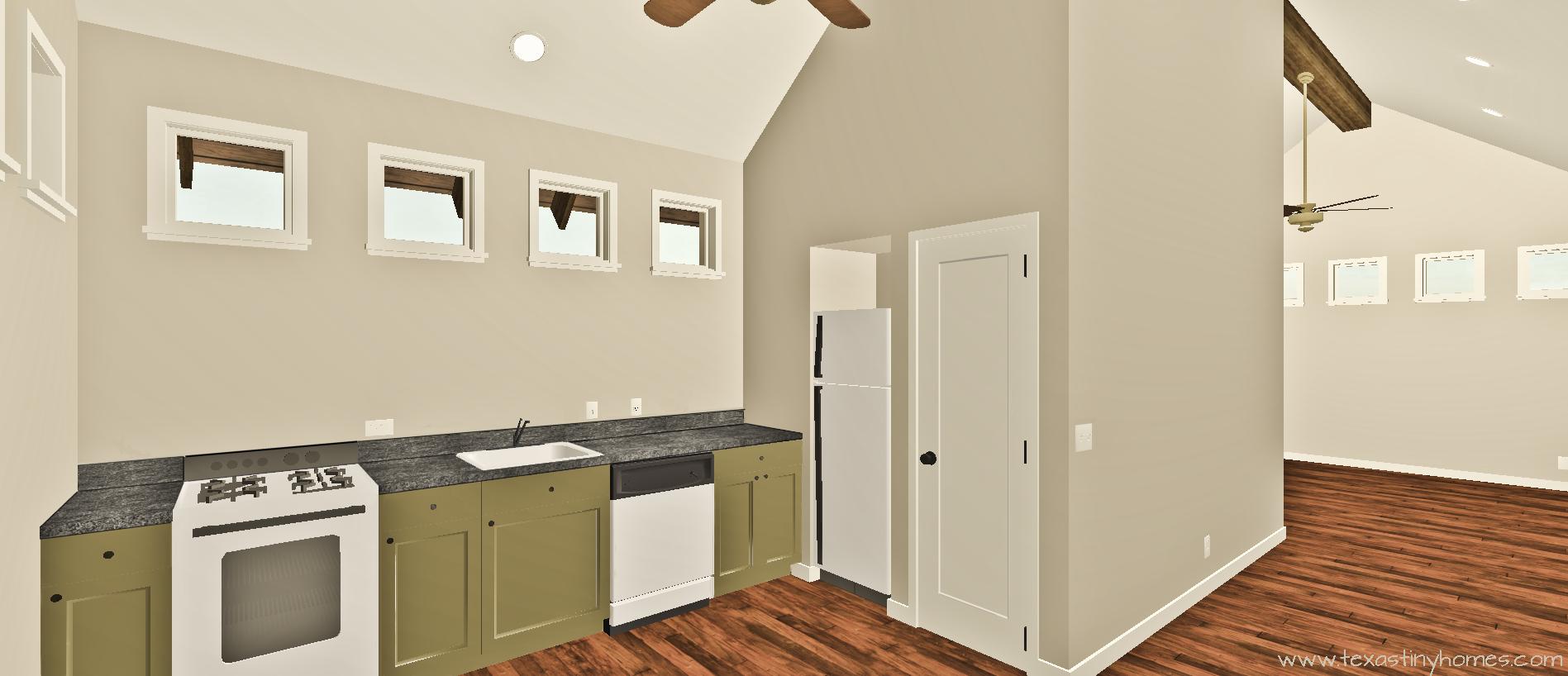 Texas Tiny Homes | Plan 579