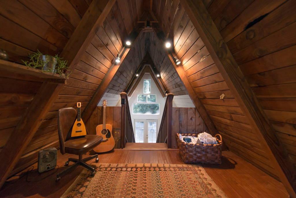 Redwoods A Frame Cabin