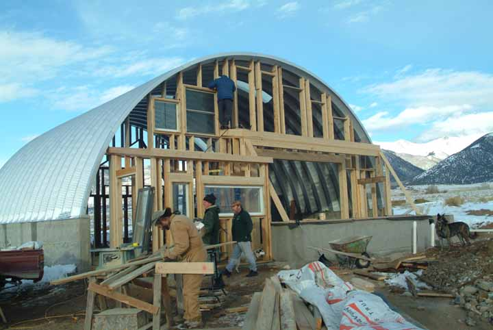 Quonset Hut on Tiny Texas Houses Floor Plans