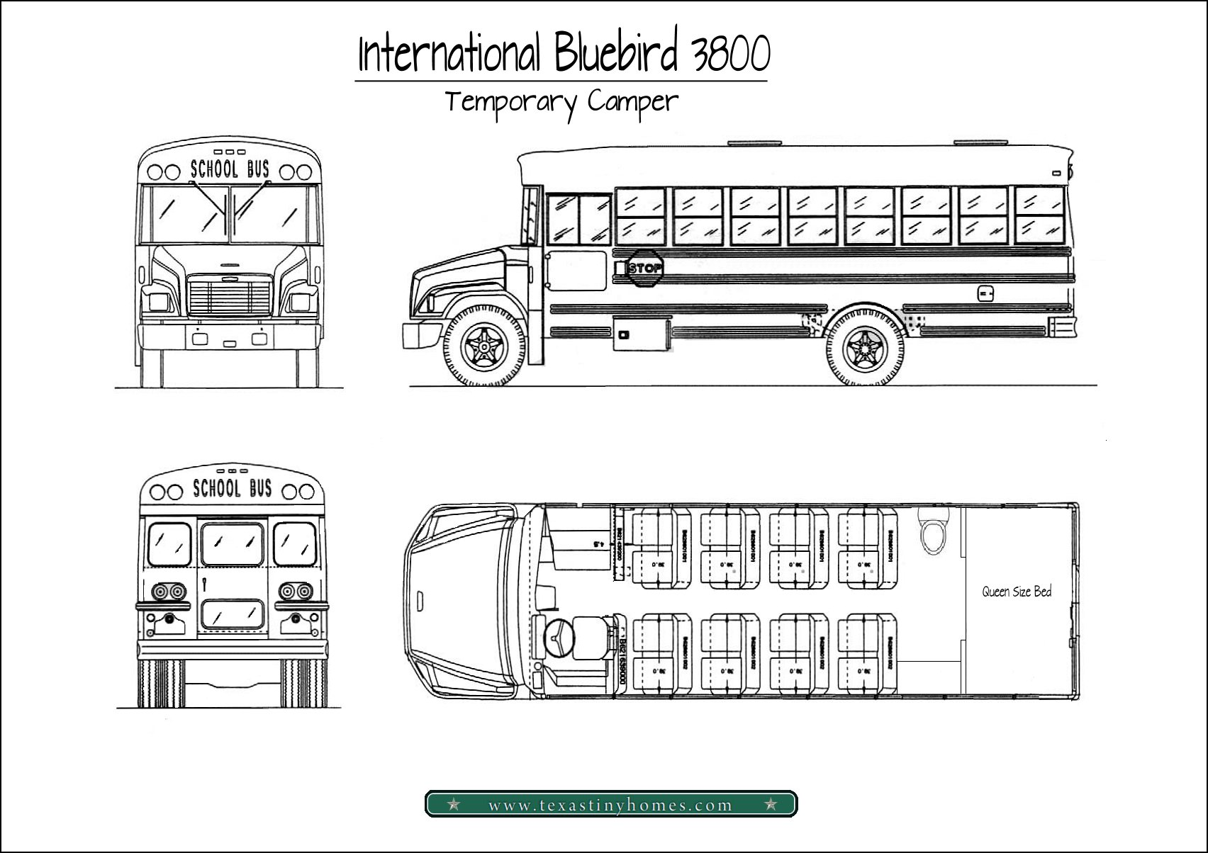 our first bus | a temporary camper school bus engine compartment diagram school bus dimensions diagram