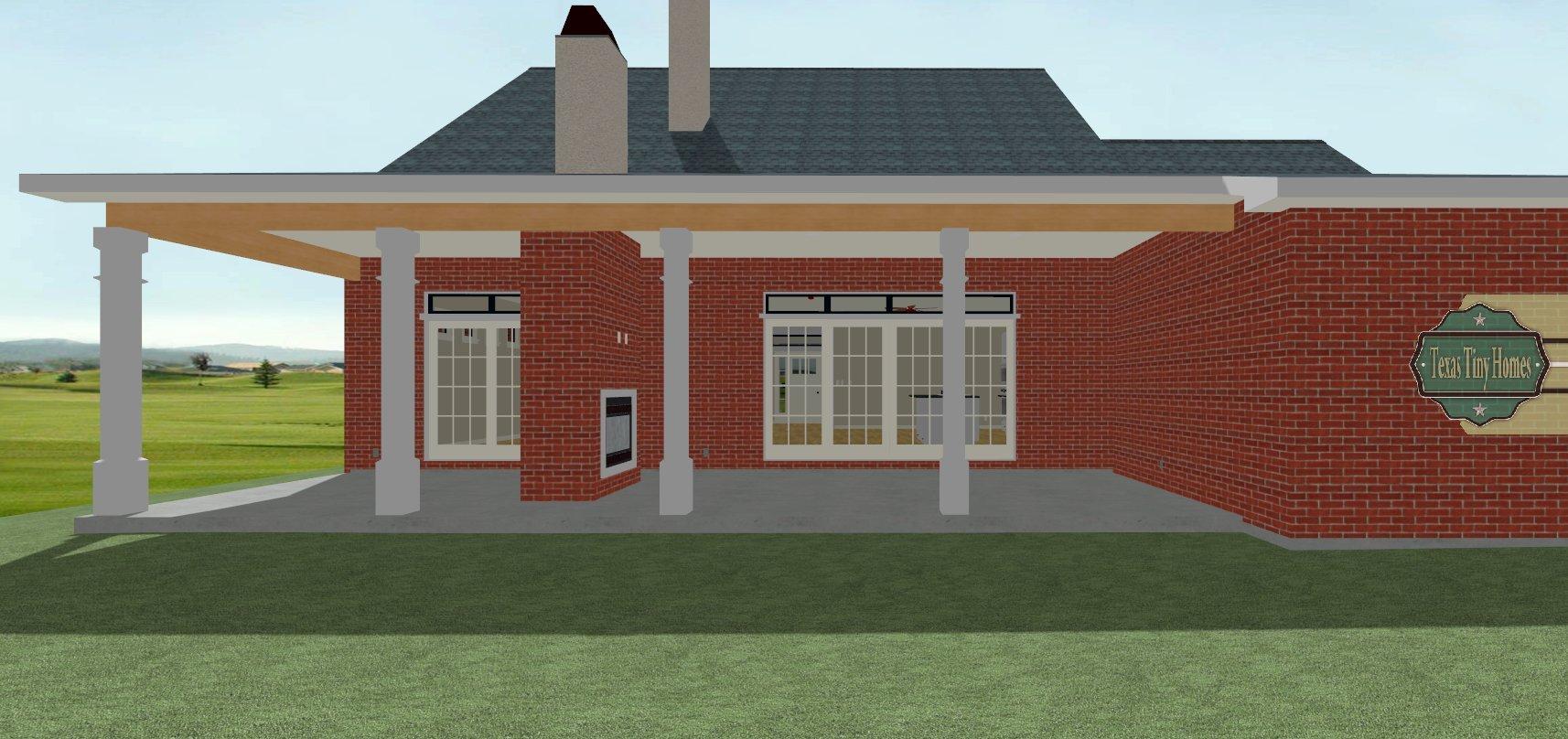 Texas Tiny Homes Plan 1870