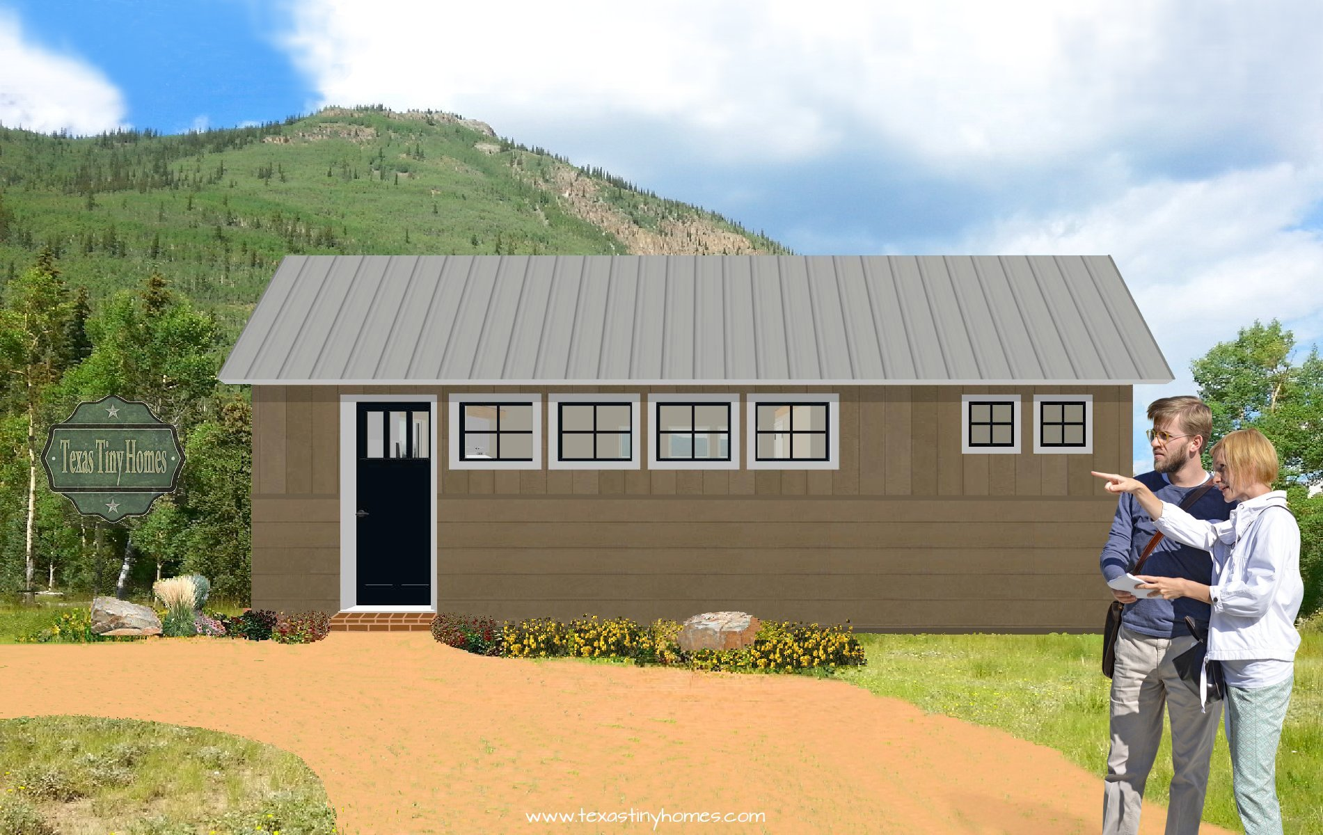 Backyard guest houses, backyard mother in-law-suites, ship-able tiny homes, tiny backyard houses, texas tiny homes, tiny homes for sale in texas